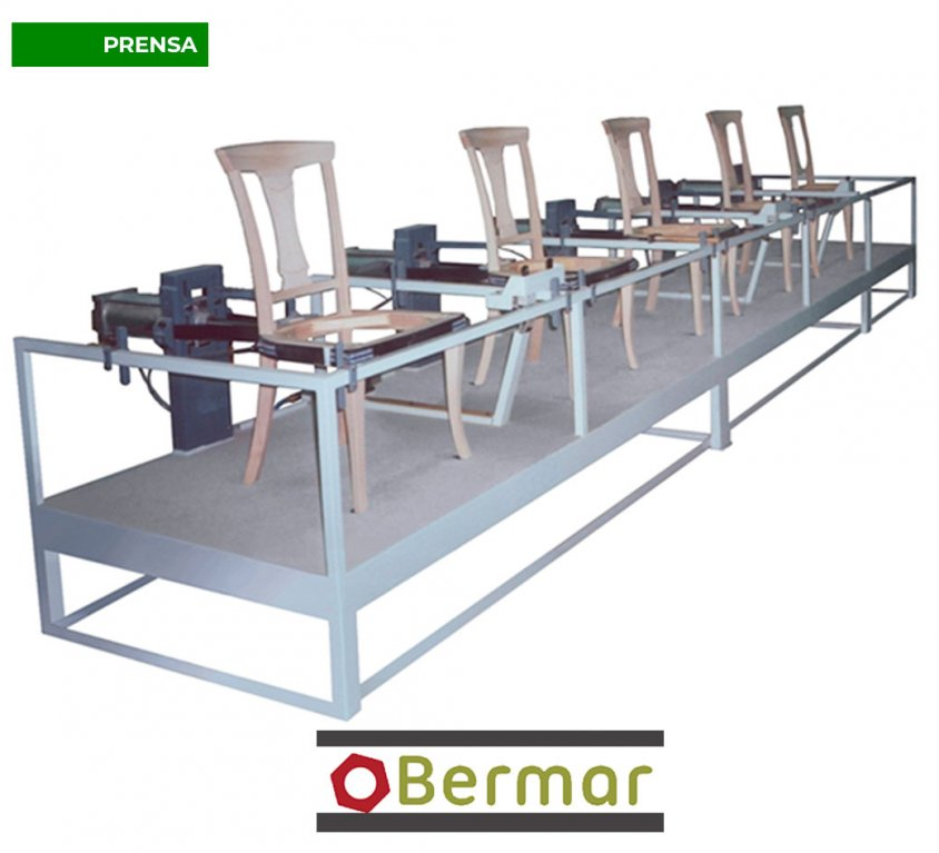 Prensa de montar sillas con cinchas Mod.P.S.R-4